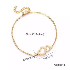 Jewelry - NEW ♡ HEART Valentine Bracelet